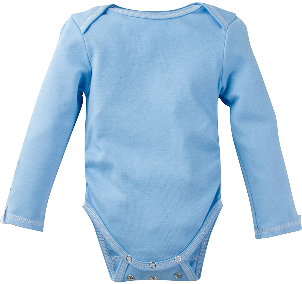 MiracleWear Long-Sleeve Neutral Unisex, Boy Girl Adjustable Snap-N-Grow 100% Cotton Bodysuit by Miracle Blanket