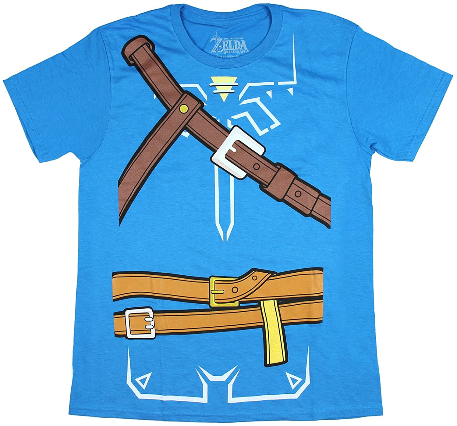 Zelda Breath of the Wild Adult Cosplay Men's T-shirt