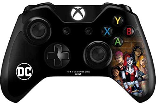 Skinit Decal Gaming Skin for Xbox One Controller - Officially Licensed Warner Bros Harley Quinn and Crew Design