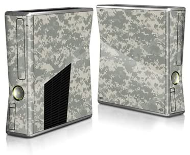 ACU Camo Design Protector Skin Decal Sticker for Xbox 360 S Game Console Full Body