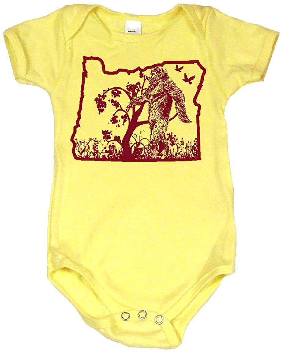 The Oregon Bigfoot Sasquatch Cute Baby Onesie, Bodysuit, T-Shirt |Cute Baby Gift