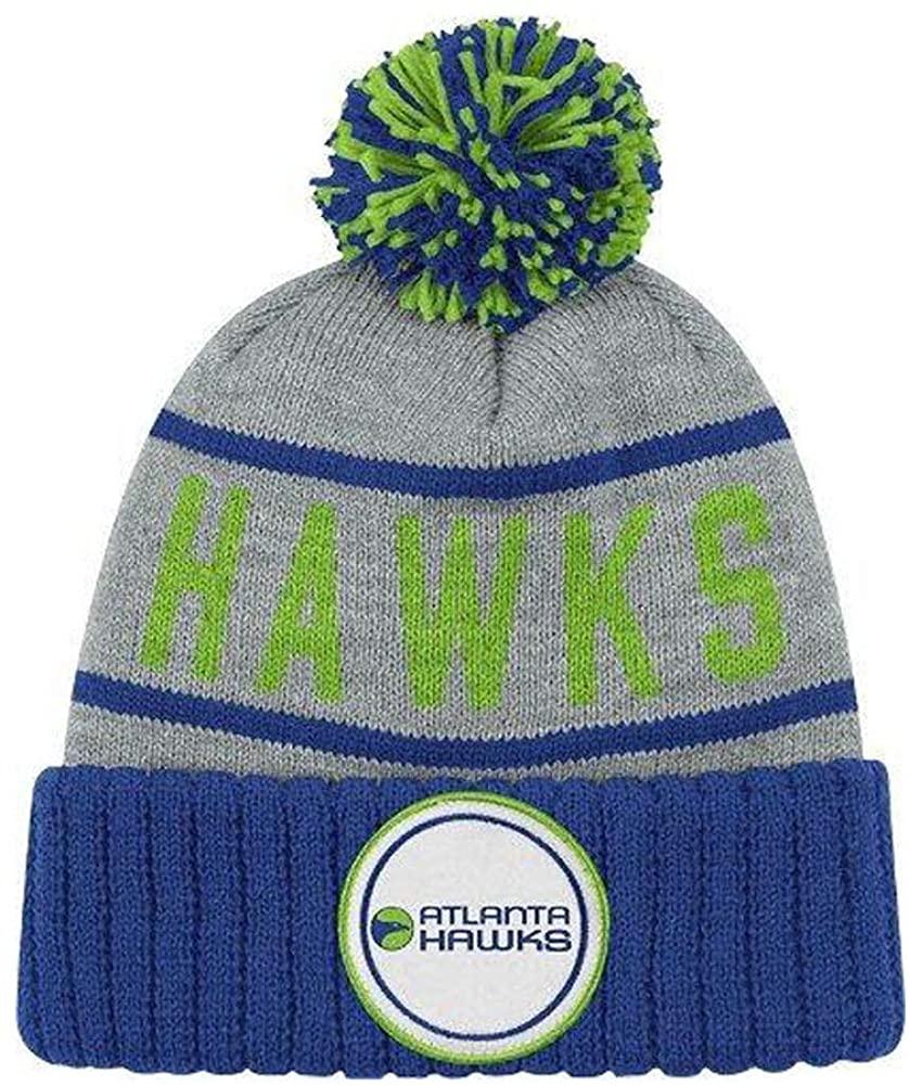 Atlanta Hawks High 5 Vintage Cuffed Pom Hat