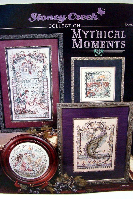 Mythical Moments - Cross Stitch Pattern Dragons Unicorn