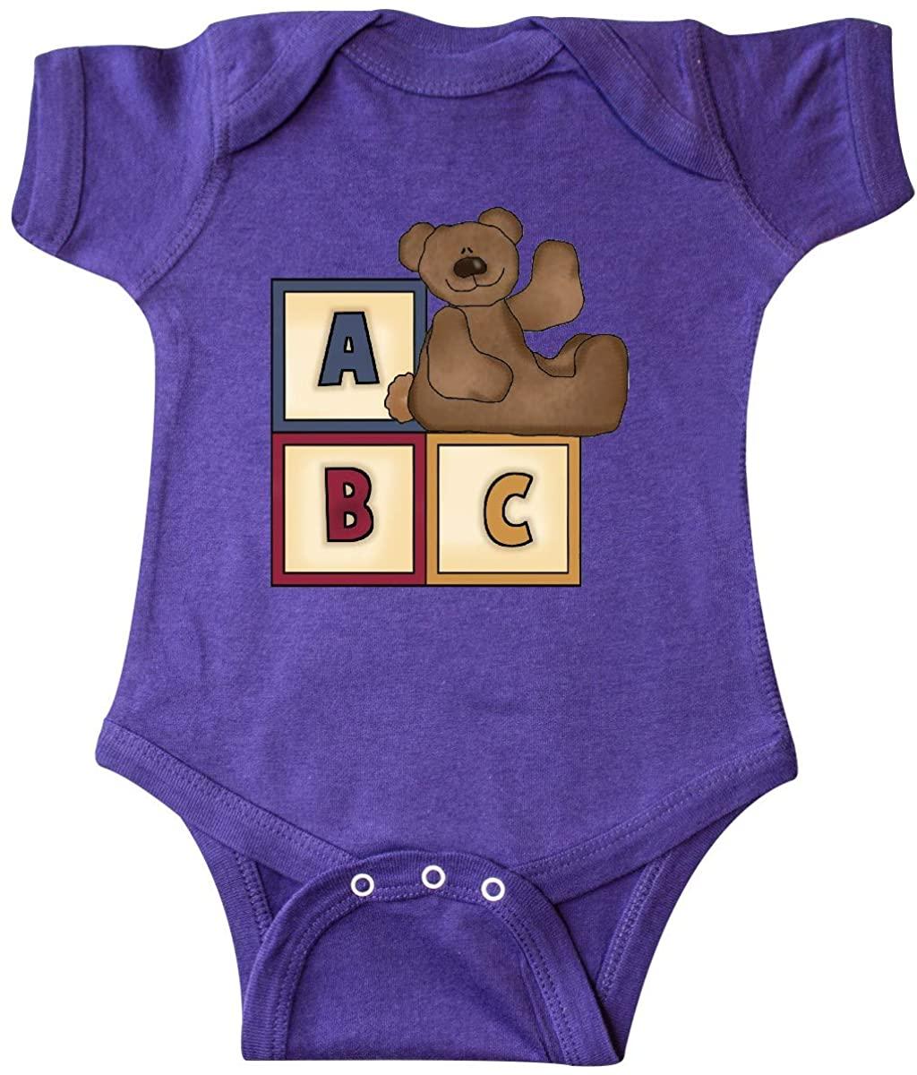 inktastic ABC Bear Infant Creeper