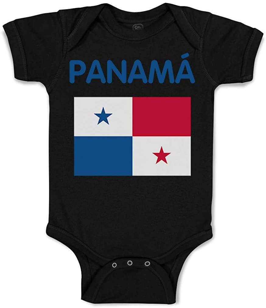 Custom Baby Bodysuit Panam Panama Funny Cotton Boy & Girl Baby Clothes