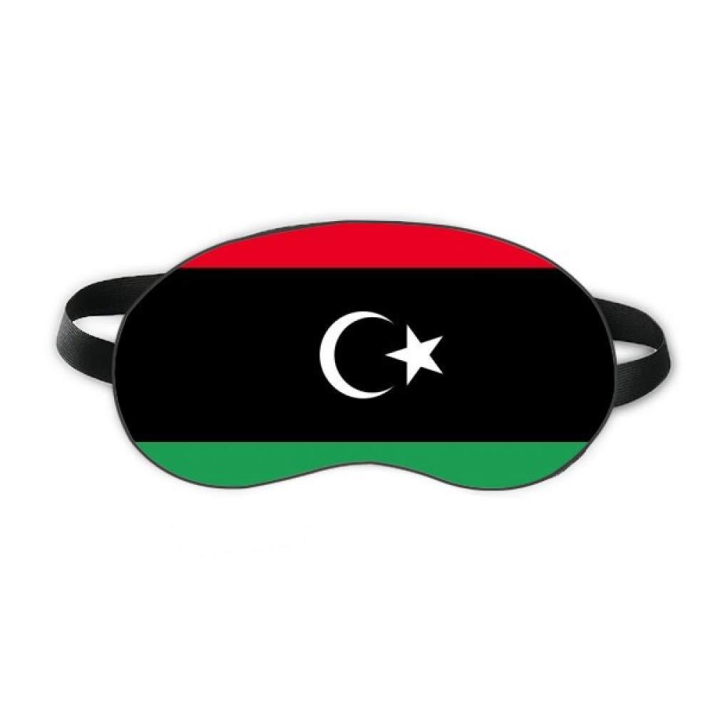 Libya National Flag Africa Country Sleep Eye Shield Soft Night Blindfold Shade Cover