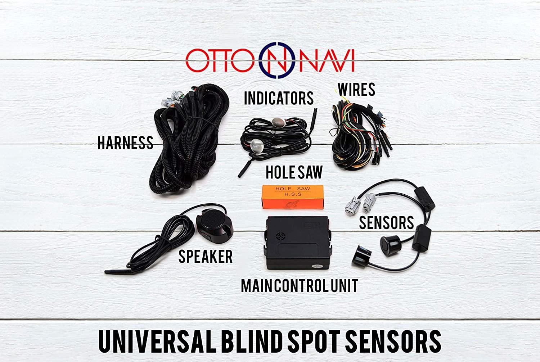 Blind Spot Monitor Safety Warning Sensor Detection Kit
