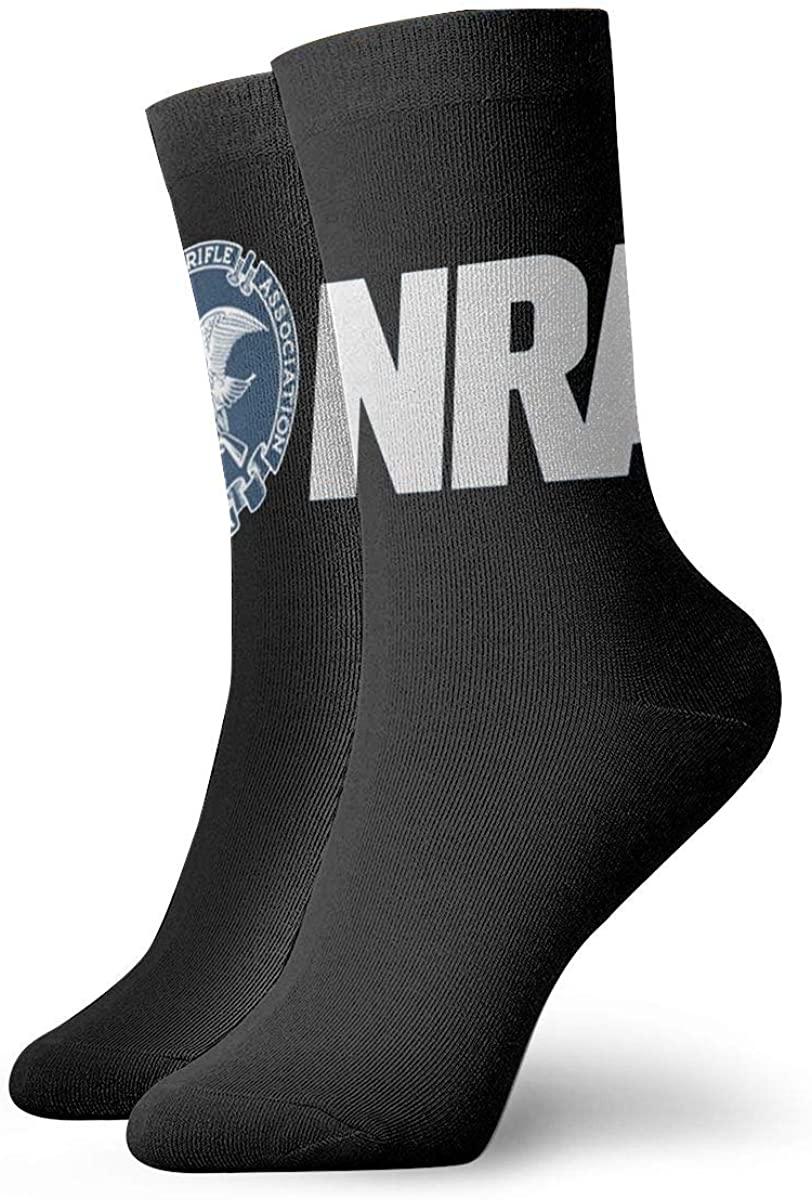 Unisex NRA National Rifle Athletic Stockings Crew Socks Sports Outdoor For Men Women