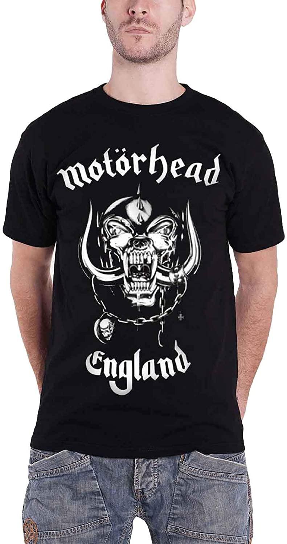 Motorhead Men's England Classic War Pig Official T-Shirt