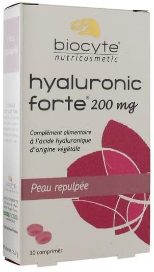 Biocyte Hyaluronic Forte 200mg Moisturizing Plumping 30 Tablets
