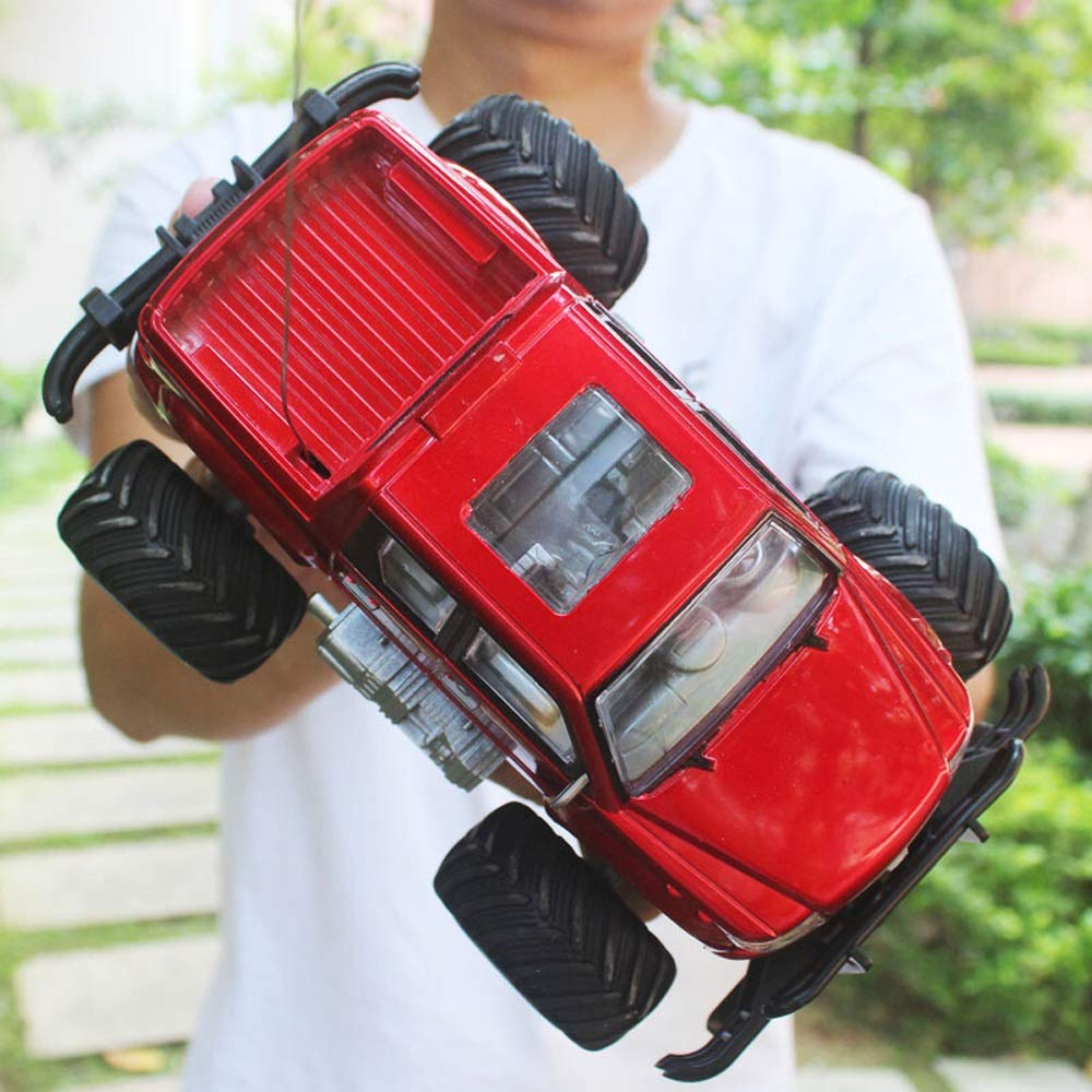 Ycco 1:18 Rc Cars for Kids, Boy Adult High Speed RC Climbing Car, Remote Control Stunt Buggy Semi-Truck Crawlers Chariot Toy, All Terrain Radio Controlled High Speed Buggy for Child Birthday Gift