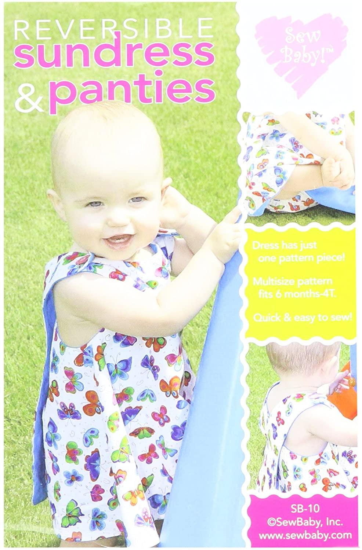 SewBaby SBC10 Reversible Sundress & Panties Pattern