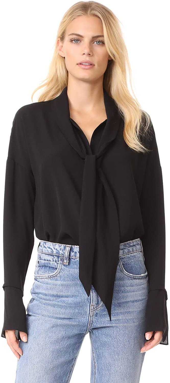 Theory Women's Scarf Shirt B