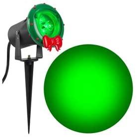 Gemmy Industries 116101 LED Outdoor Spotlight, Green - Quantity 1