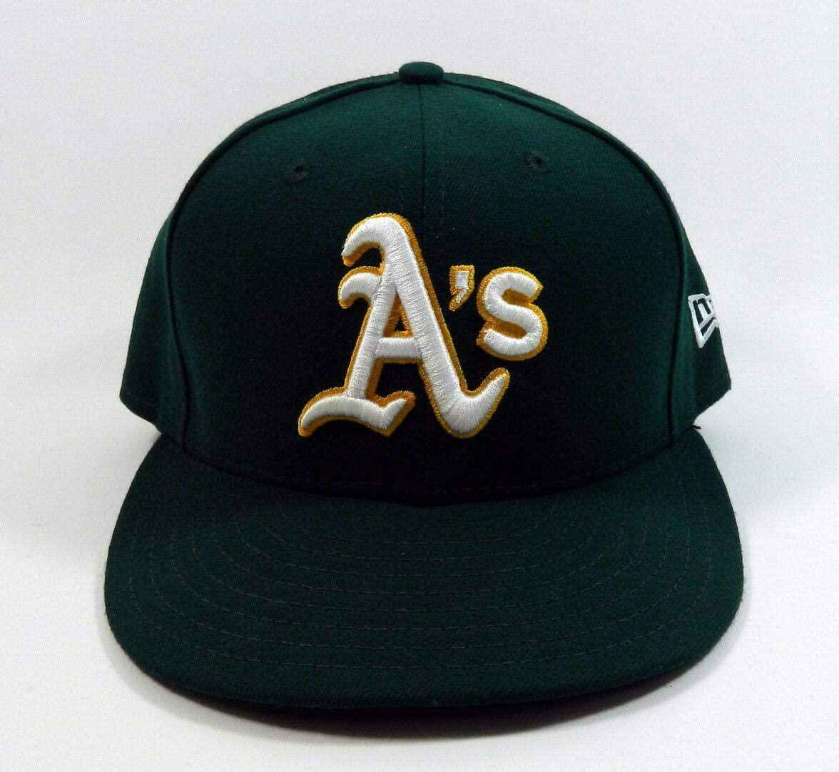 2019 Oakland Athletics A's J.B. Wendelken #57 Game Issued Green Hat JD487852 - MLB Game Used