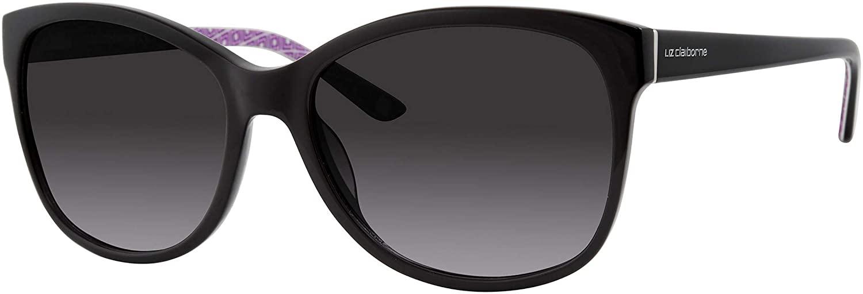 Sunglasses Liz Claiborne 570 /S 0807 Black / 9o Dark Gray Gradient