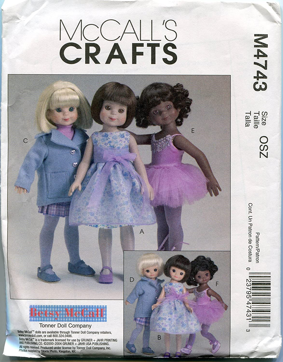 McCall's Sewing Pattern M4743 8