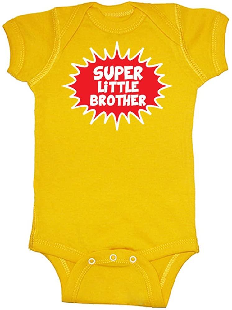 Mashed Clothing Baby-Boys' Super Little Brother Bodysuit