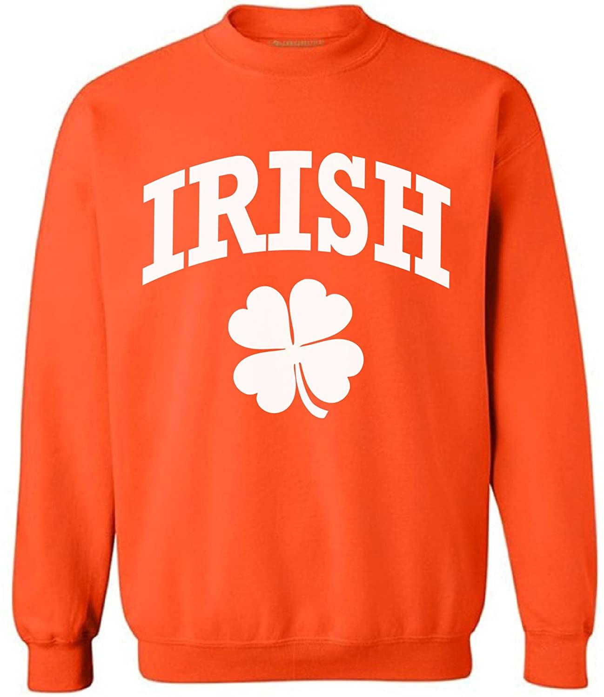 Awkward Styles Irish Clover Sweatshirt St. Patrick's Day Lucky Clover Sweater
