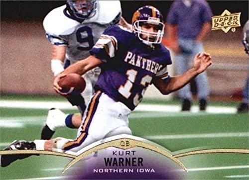 Kurt Warner football card (Northern Iowa) 2015 Upper Deck #35