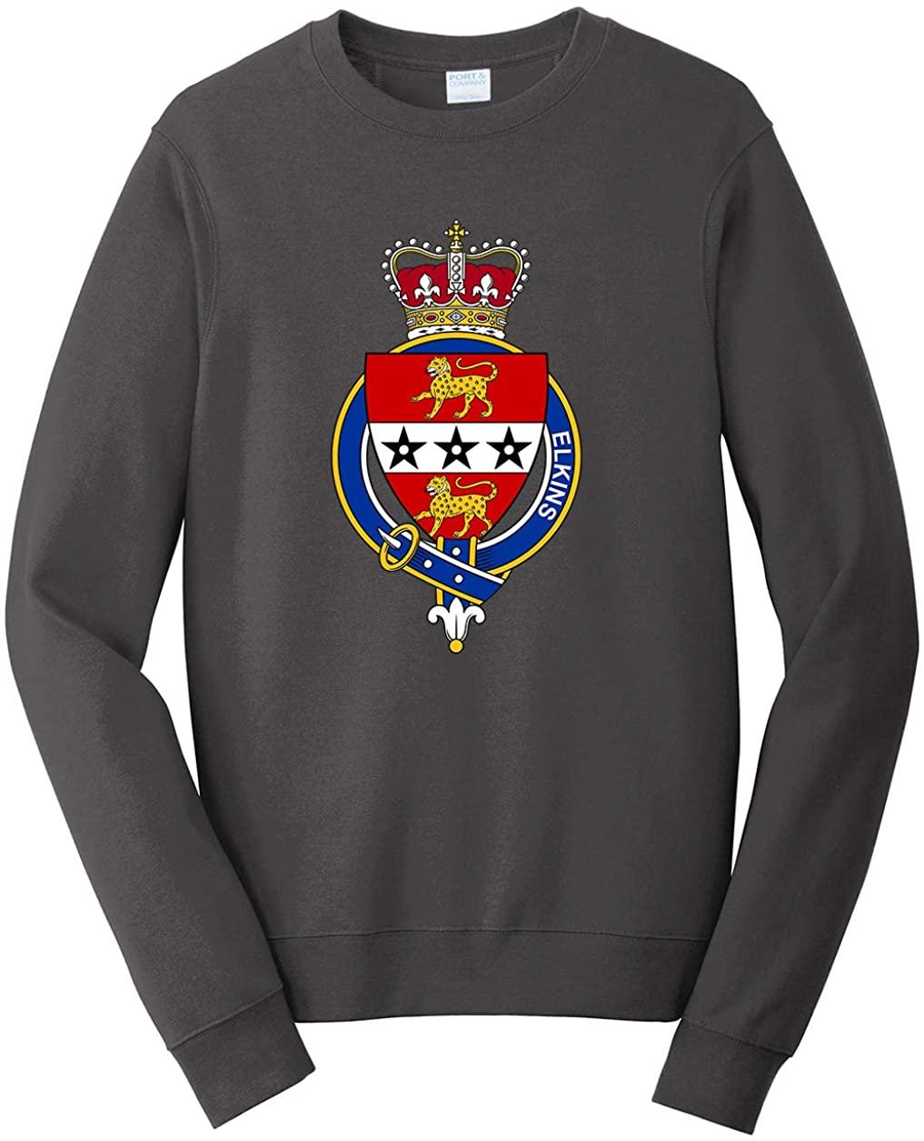 Tenacitee Men's English Garter Family Elkins Sweatshirt