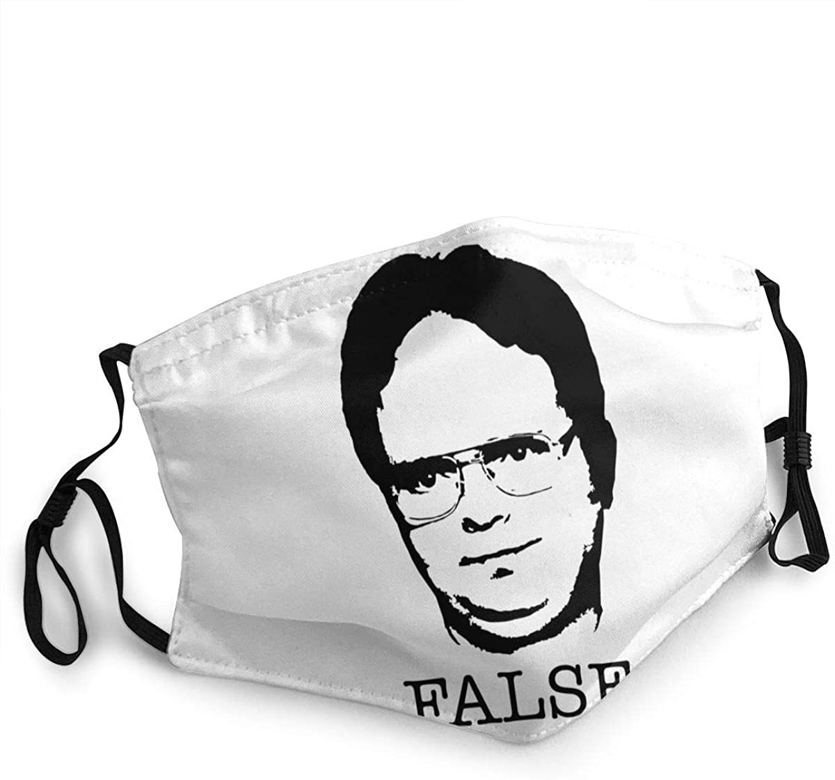 Dwight Schrute Washable Reusable Unisex Breathable Adult Dust Face Mouth Cloth Balaclava (Multiple Outfits)