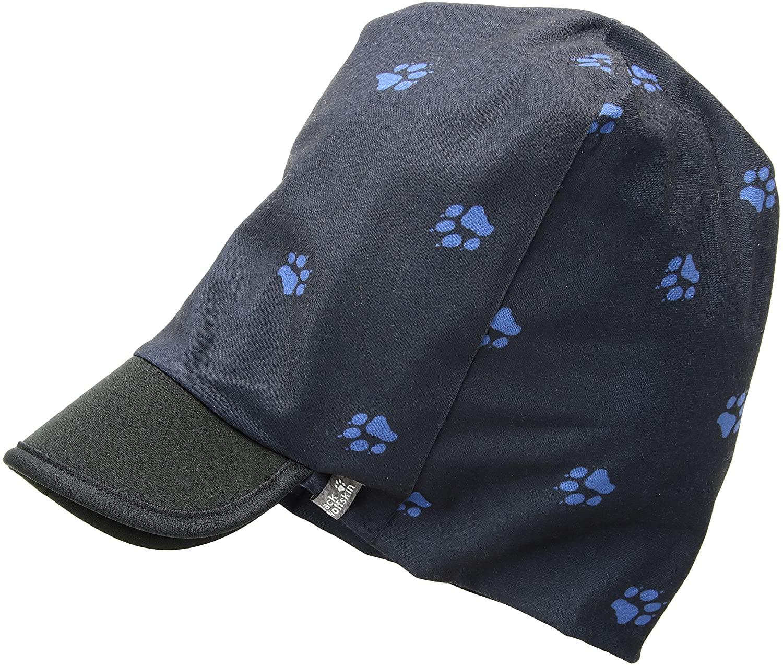 Jack Wolfskin Paw Beanie Headgear, One Size, Night Blue