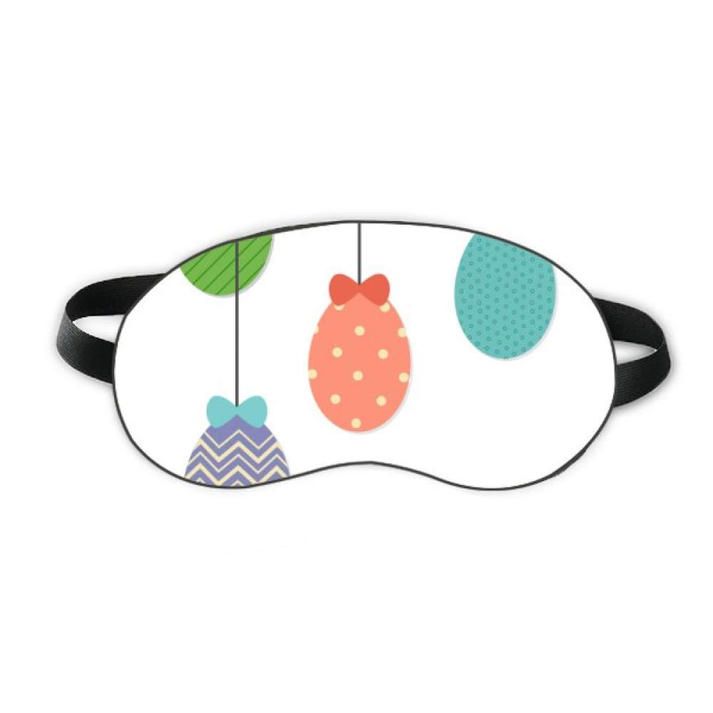 Easter Religion Festival Hanging Colored Egg Sleep Eye Shield Soft Night Blindfold Shade Cover