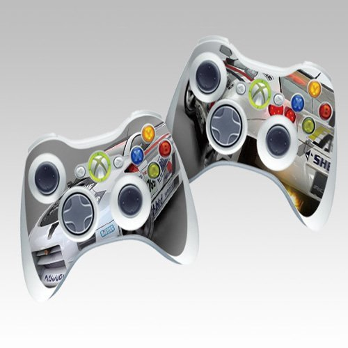 RAC Protective Skin Decorative Decal for XBOX 360 Controller (2pcs in 1)