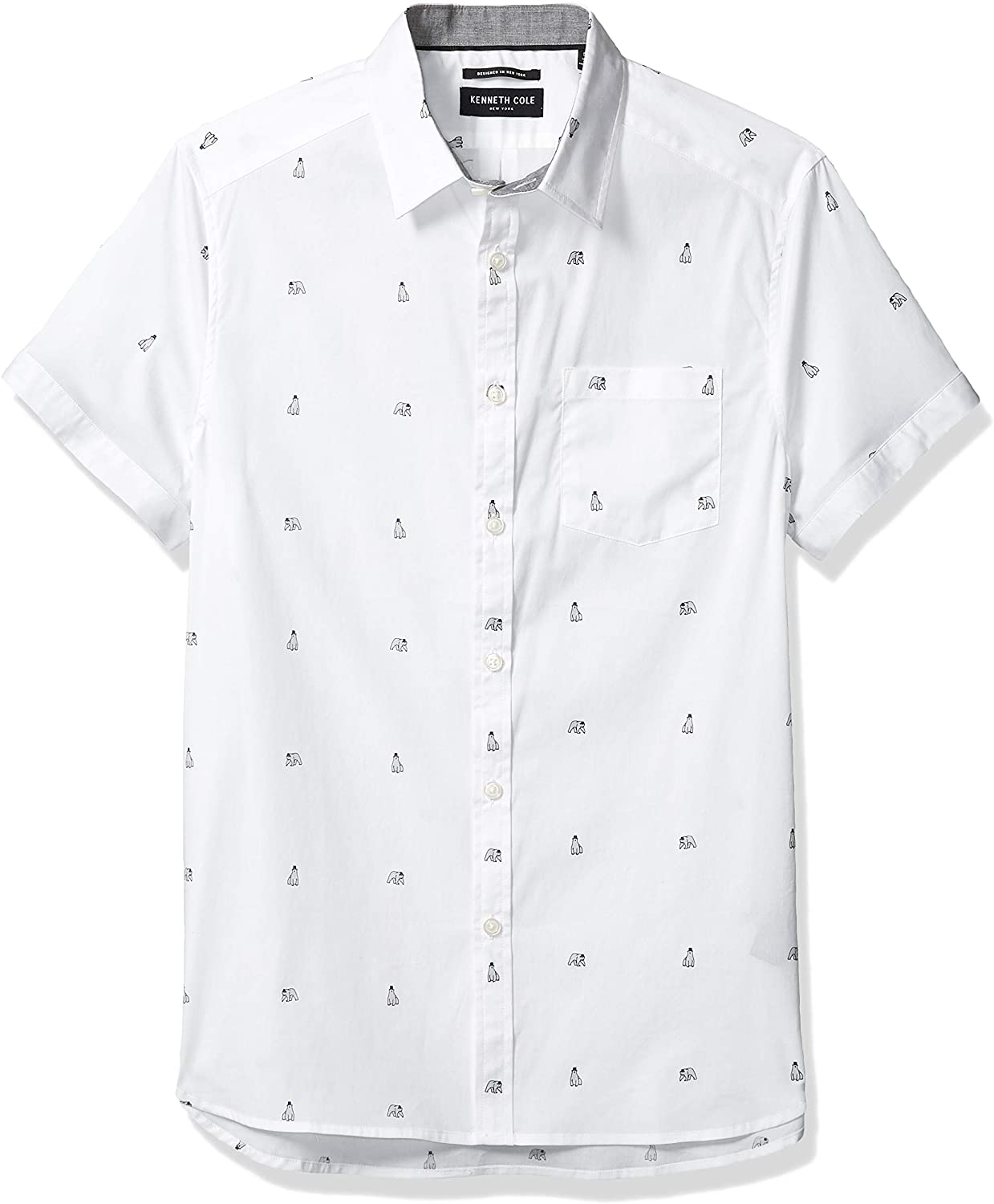 Kenneth Cole Button Up