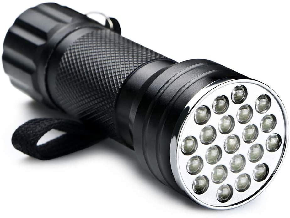 LYXLQ LED Flashlight, Multi-Function Aluminum Flashlight with 3 AAA Batteries As The Driving Power 21 LED Flashlights