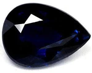 1.49 Carat Loose Sapphire Pear Cut