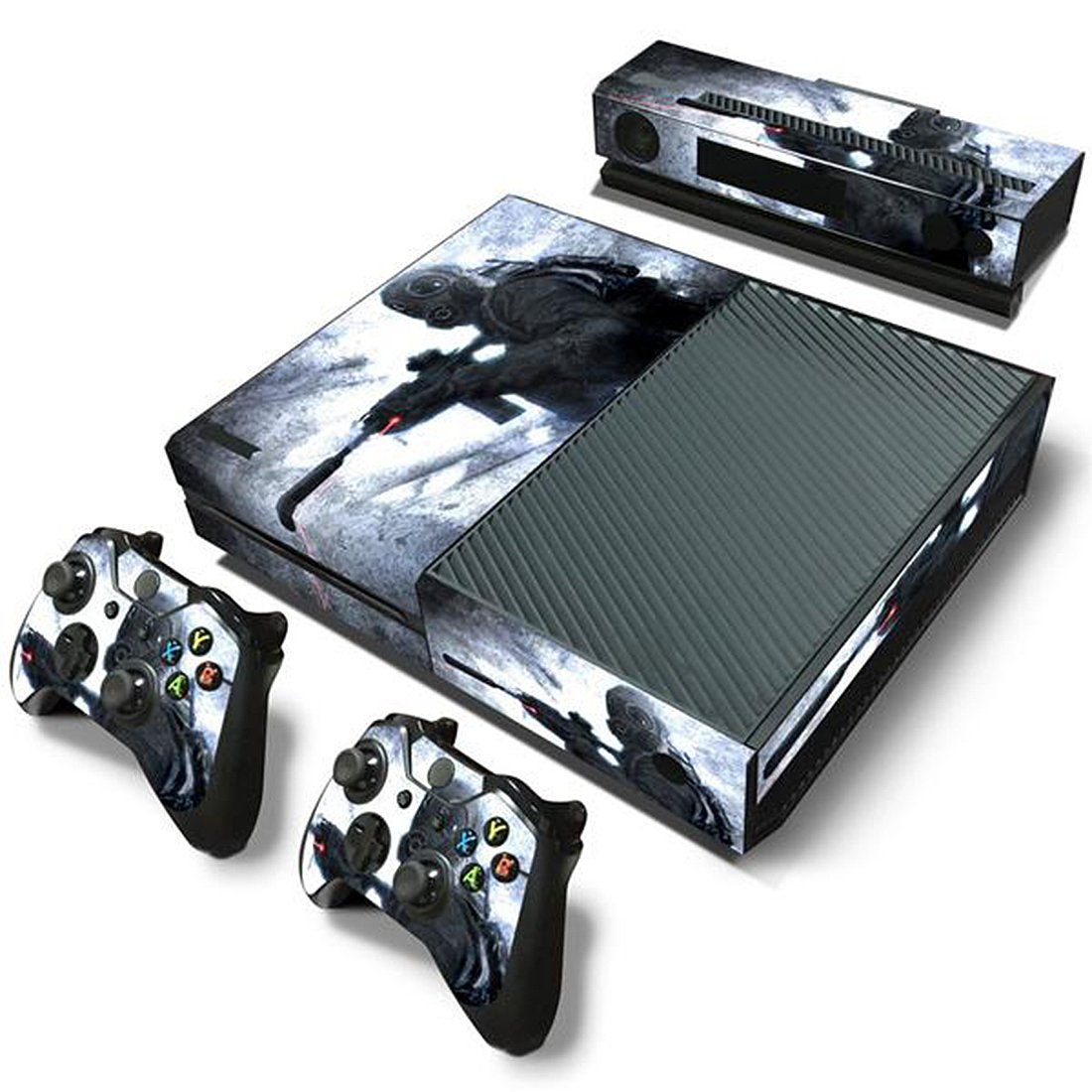 Mod Freakz Console and Controller Vinyl Skin Set - Call of Duty Metro for Xbox One