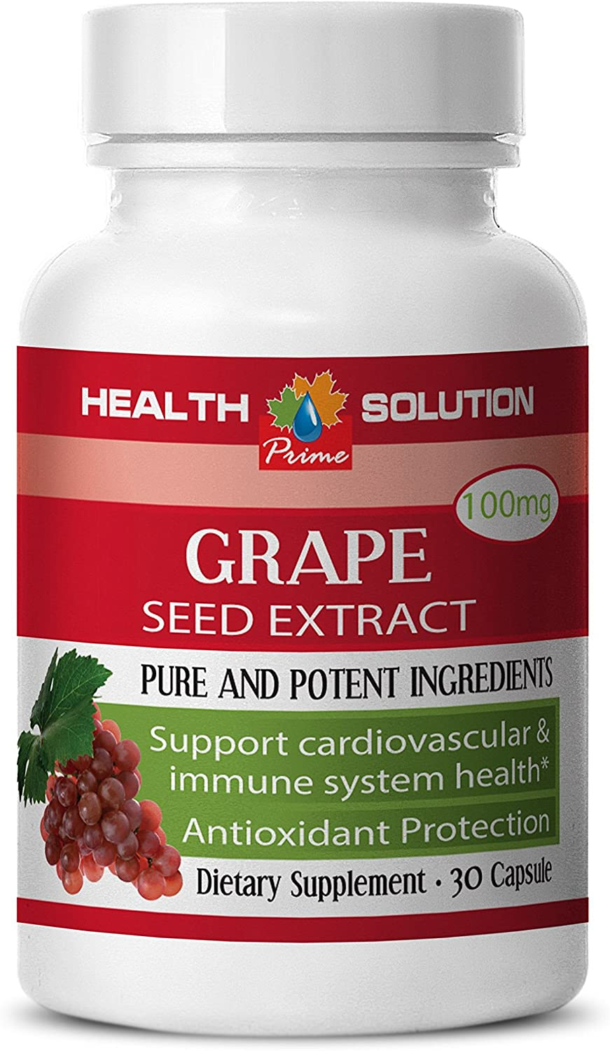 Grape Seed Extract - Grape Seed Extract- Improve Skin Appearance (1 Bottle)