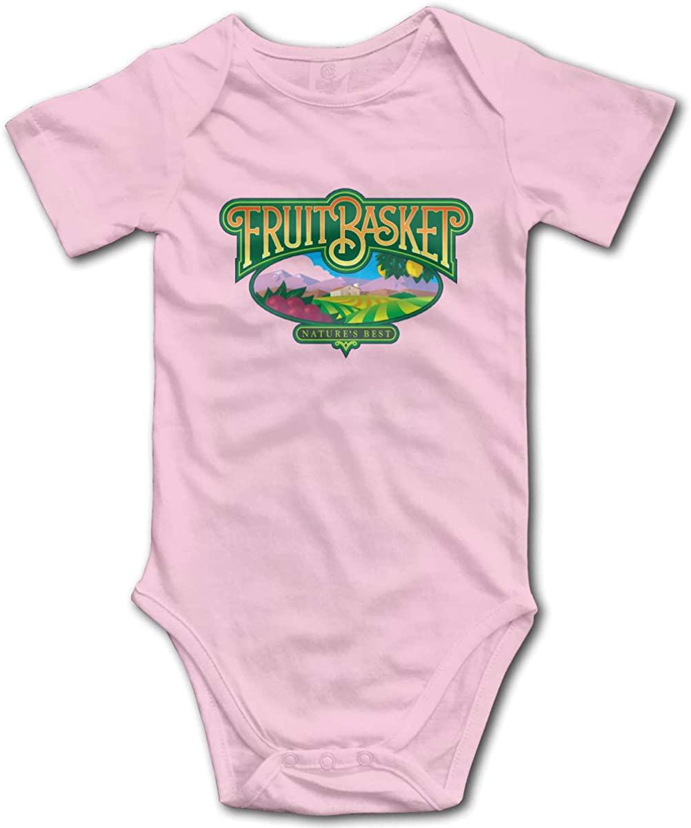 Kaihngl Baby Boy Girl Fruits Basket Logo Anime Cotton Lovely Newborn Infant Baby Onesies Bodysuit T Shirt