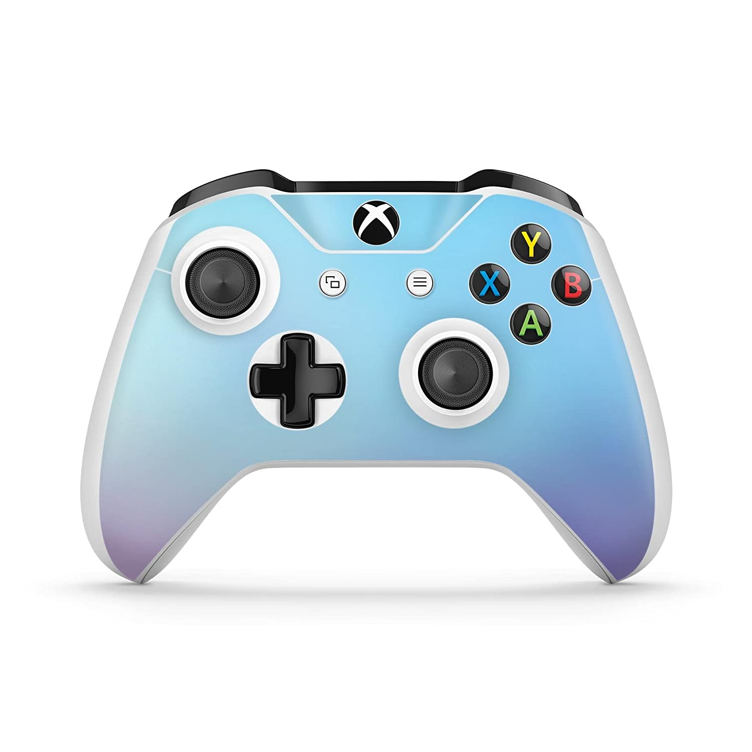 Subtle Tie-Dye Tone - Protective Vinyl DesignSkinz Decal Sticker Skin-Kit for the Microsoft Xbox ONE / ONE S Controller