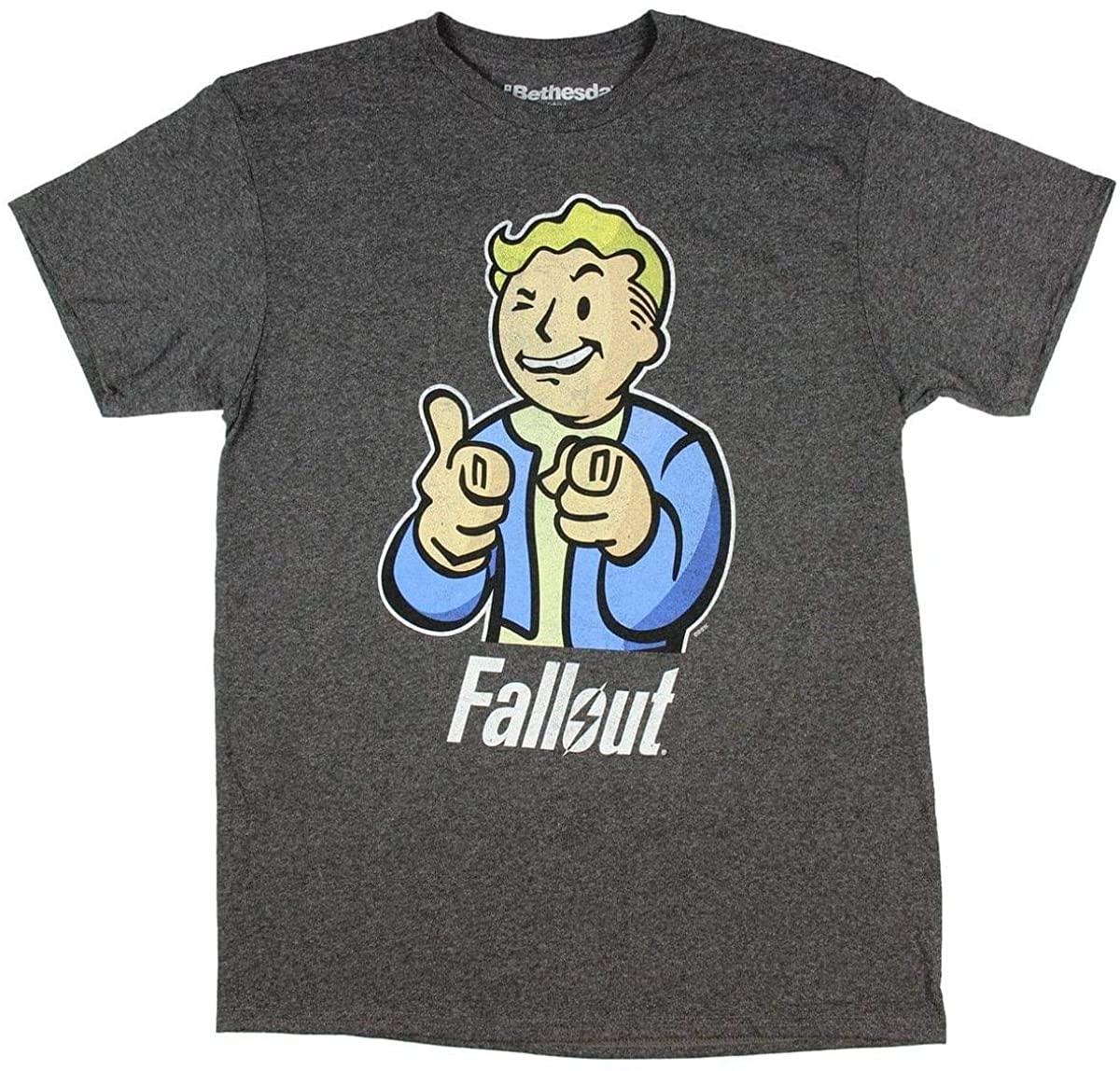 Fallout- Vault Boy T-Shirt Size L