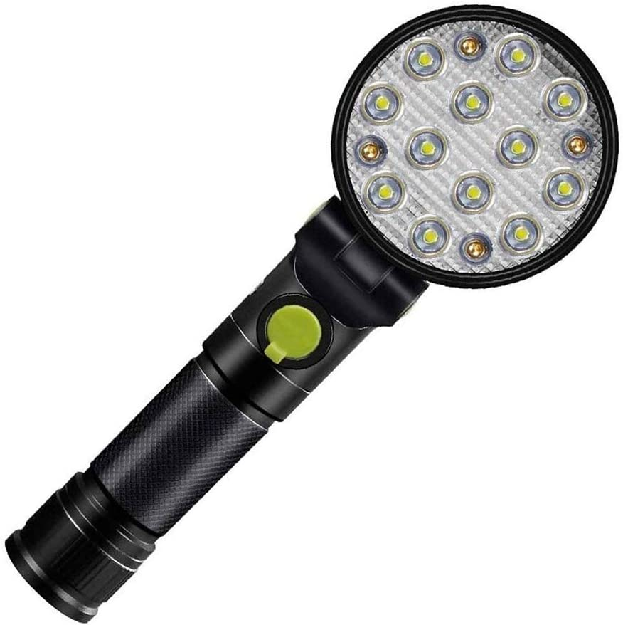 JINDEN Brightest Flashlight LED Flashlight - Brightest High Lumen Light Water Resistant Mini Riding Outdoor Camping and Emergency Flashlights