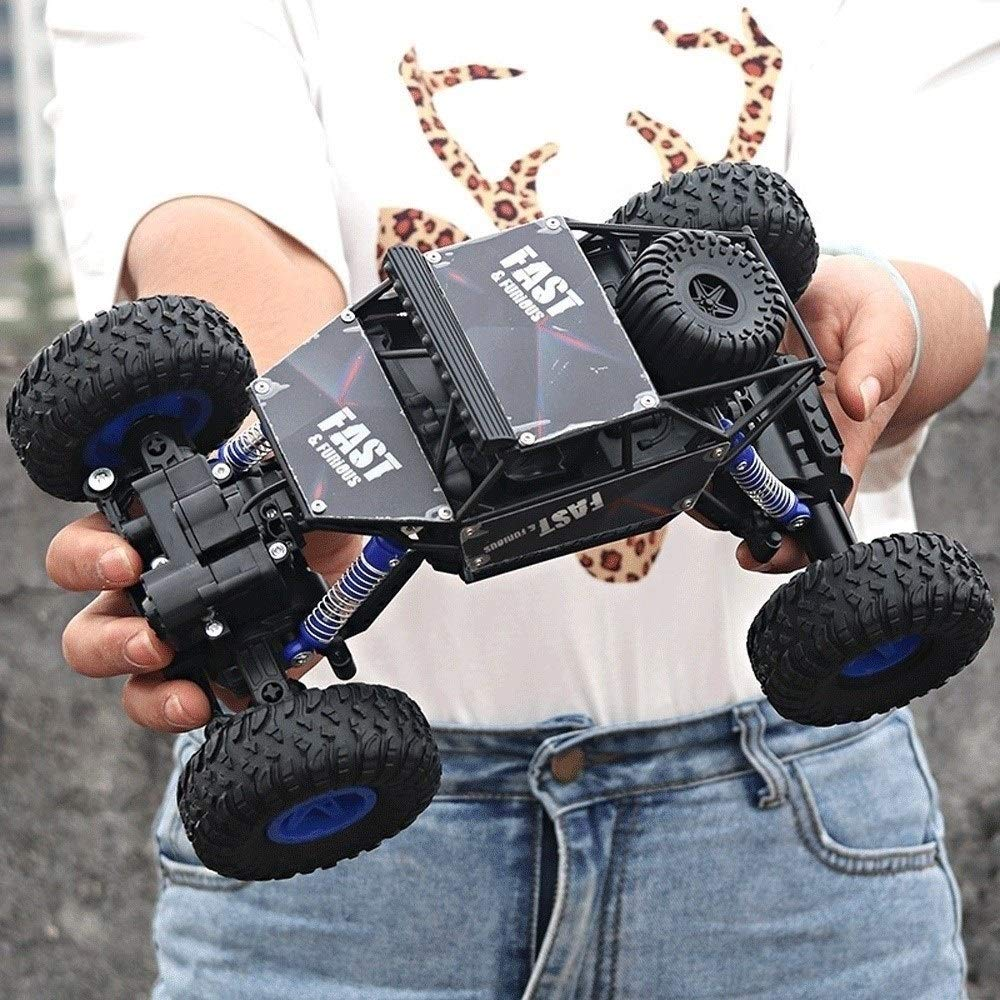 Kikioo 1:14 Off-Road Vehicle 2.4G 4WD Fast Speed Racing Car RTR Electric Monster Truck Wireless Remote Control Buggy Stunt Car Drifting Hobby Toy for Kids Birthday Christmas Outdoor Preferred Gifts