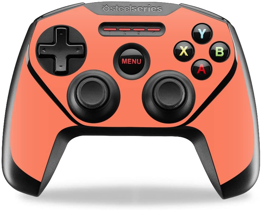 MightySkins Skin Compatible with SteelSeries Nimbus Controller case wrap Cover Sticker Skins