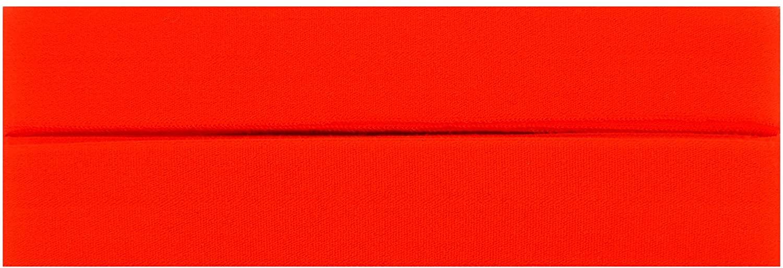 Trimweaver 7/8-Inch Fold Over Elastic for Craft, 5-Yard, Neon Orange