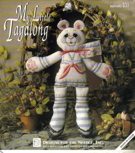 Bernard Bear - My Little Tagalong (Design by Lois Thompson)