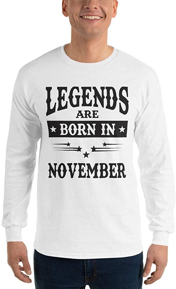 Men's Long Sleeve Shirt White