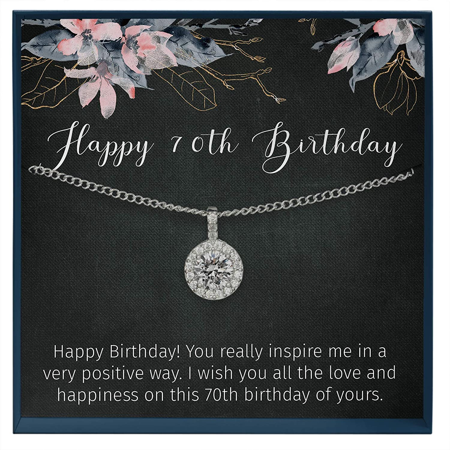Muse Infinite 70th Birthday Gifts for Women Gift Ideas Gift for 70 Year Old Woman, Seventy Birthday Gift for Sister, 70th Gift for Mom