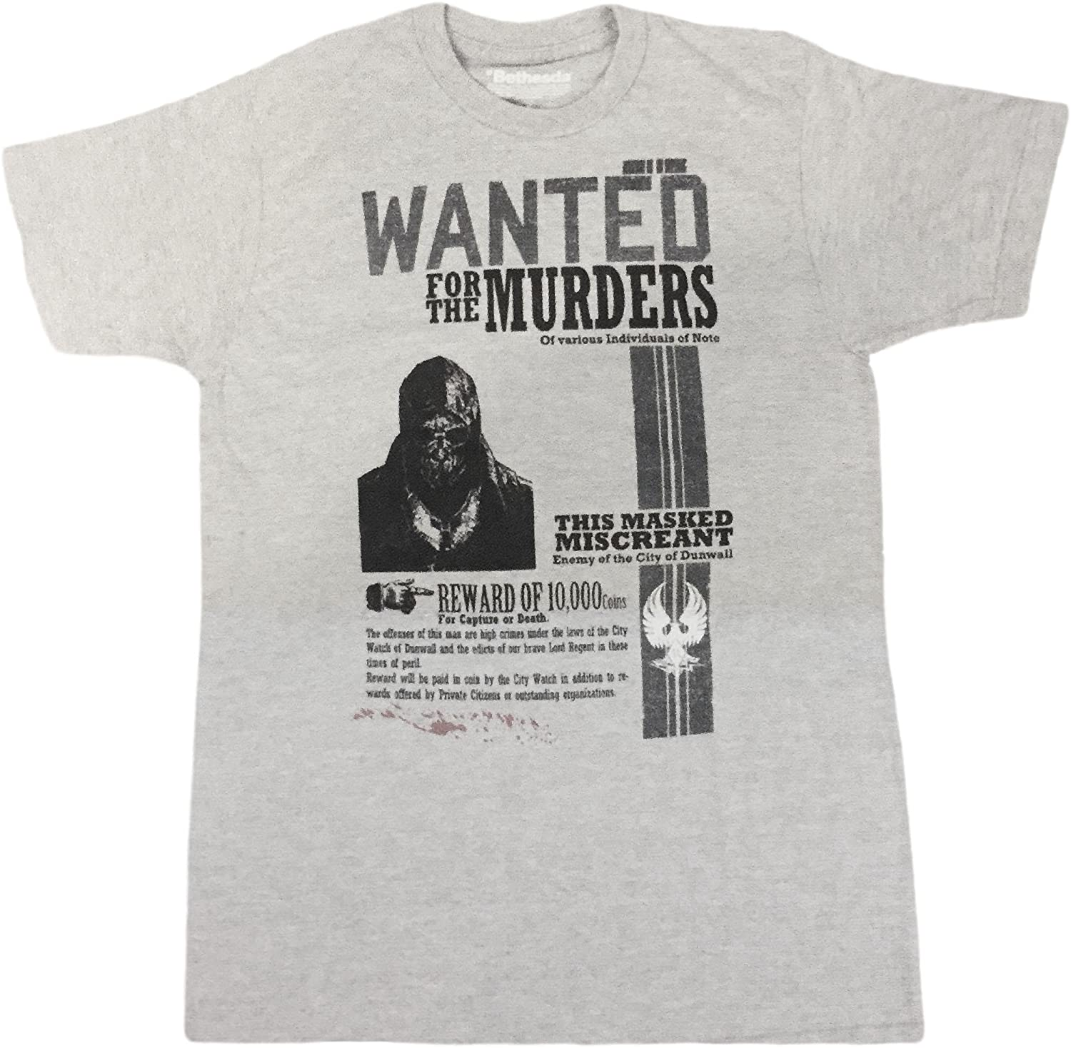 Loot Crate Dishonored Wanted Mens T-Shirt Exclusive