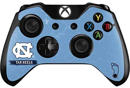 Skinit Decal Gaming Skin for Xbox One Controller - Officially Licensed College North Carolina Tar Heels Design