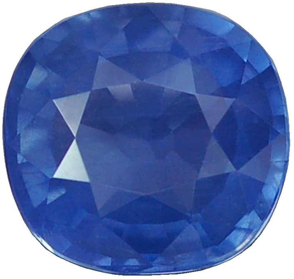 Ploythai 1.80CT Ravishing VVS UNHEATED Cushion Blue Sapphire Natural