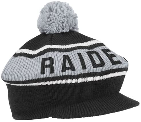 Oakland Raiders Mitchell & Ness Vintage Winter Caddy Hat
