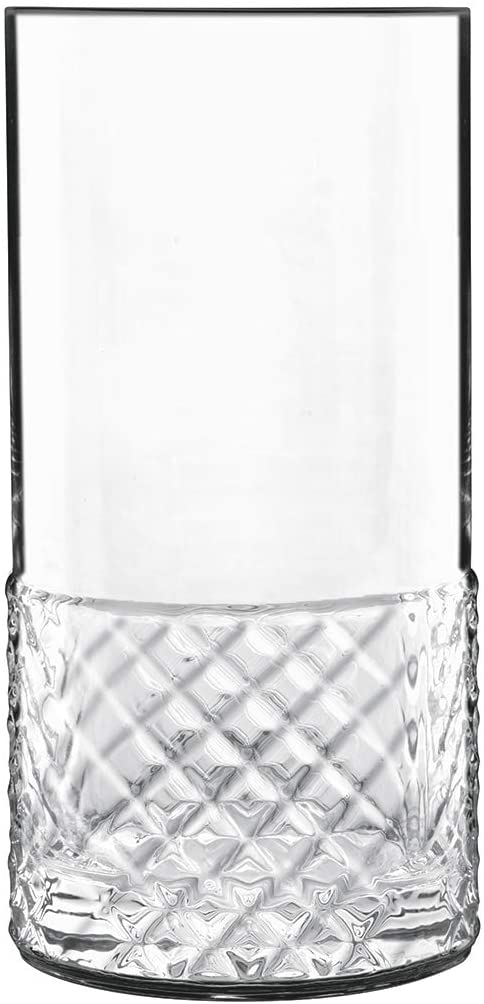 Luigi Bormioli Roma 16.25 oz Glass, Set of 4 Hiball/Beverage Drinkware, Clear