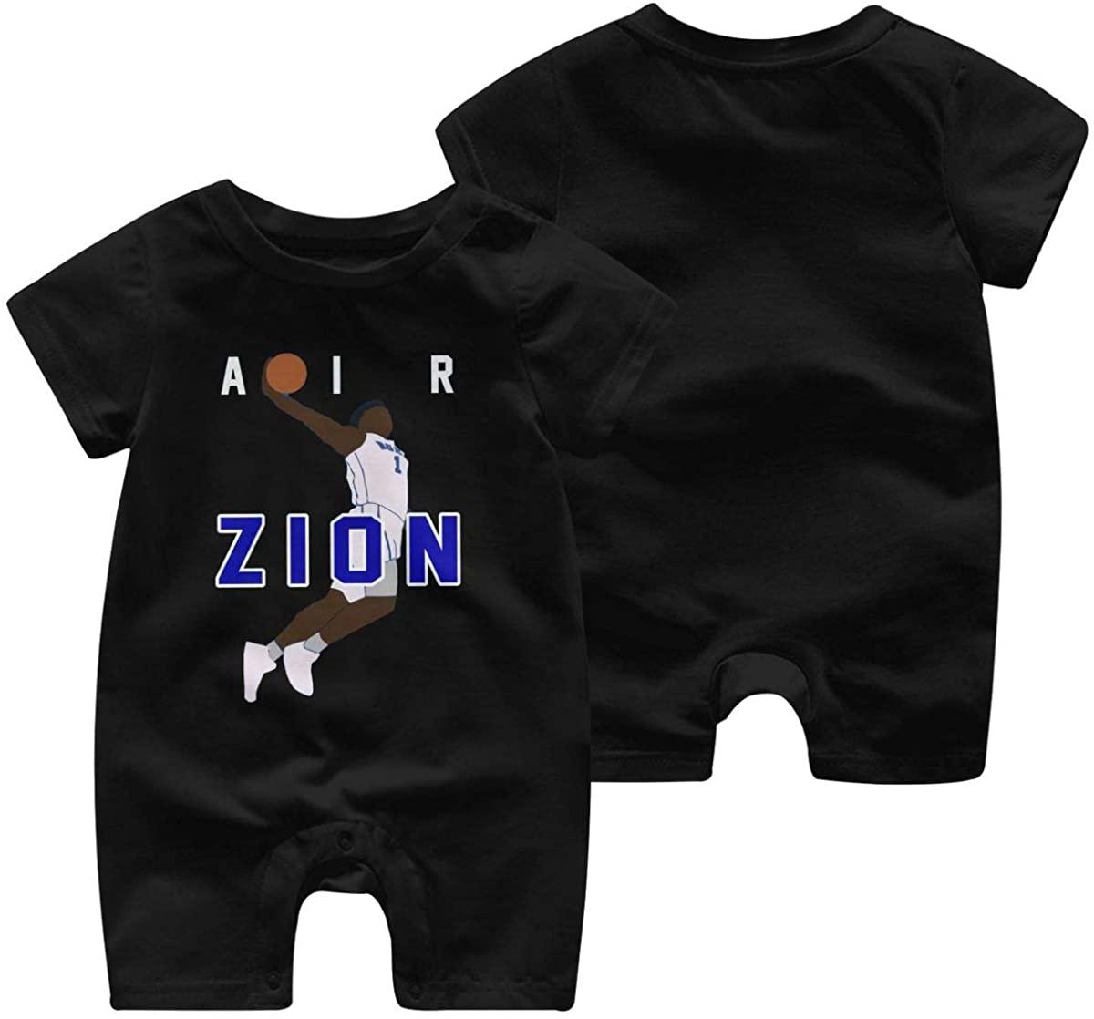Duke Zion 4 Baby Jumpsuit Infant Short Sleeve Kids Cotton Bodysuit
